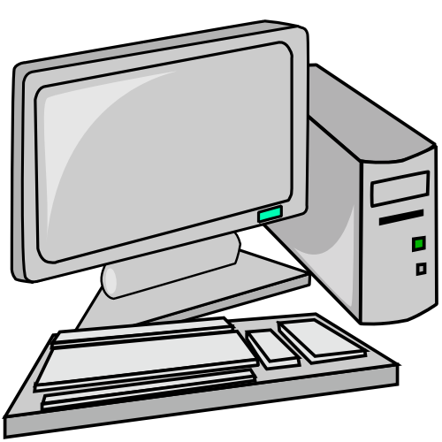 500x500 Free Computer Clipart, 80 Pages Of Public Domain Clip Art