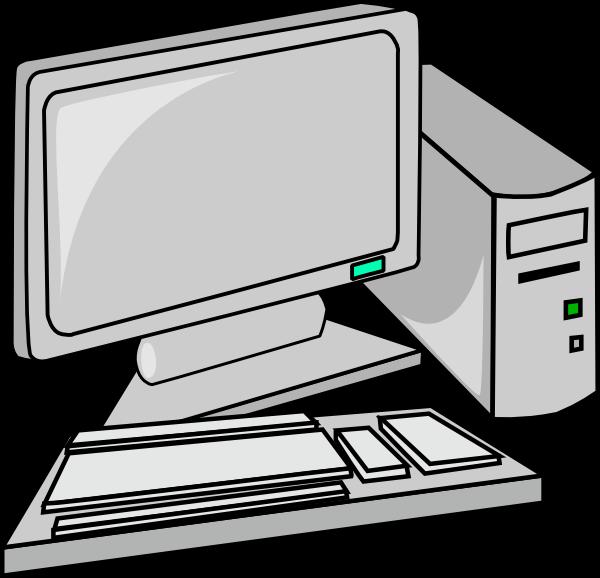 600x578 Image Of Desktop Computer Clipart