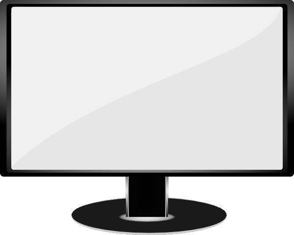 600x479 Computer Monitor Clip Art