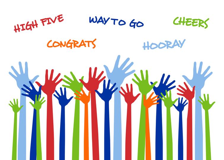 756x540 Congratulations You Deserve It A Hand Clipart Congratulations