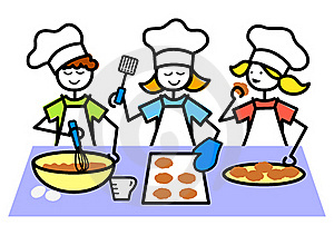 300x211 Cooking Kidsoking Clipart Free Images 3