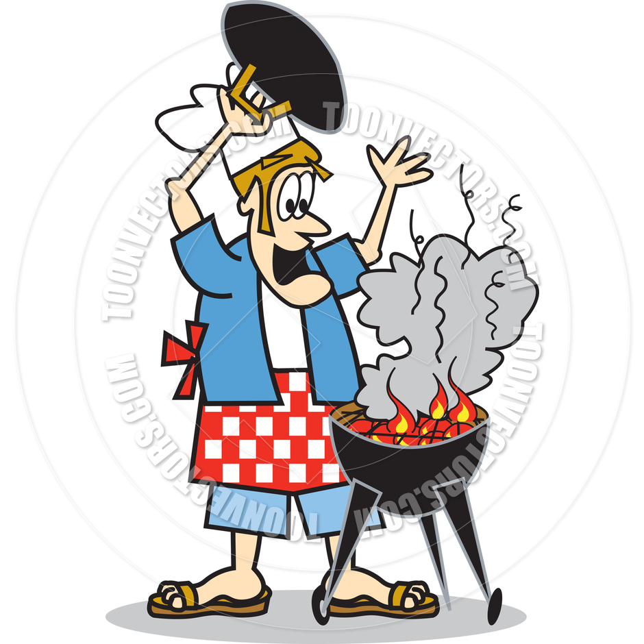 940x940 Barbecue Clipart On Fire