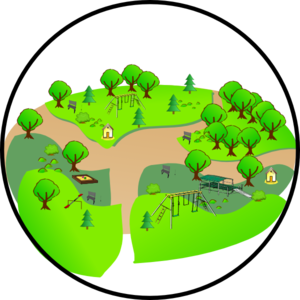 300x300 Country Park Clip Art