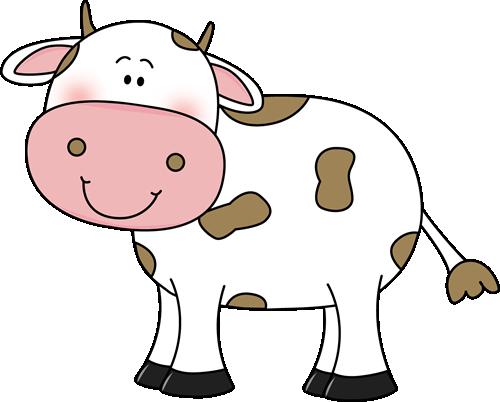 500x402 Cow Clip Art