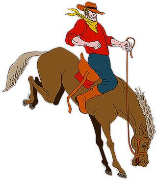 320x367 Free Cowboy Animations