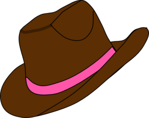 300x237 Cowgirl Hat And Boot Clip Art