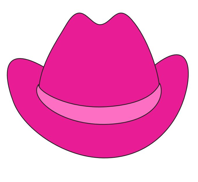 680x624 Cowgirl Clipart Hat Day