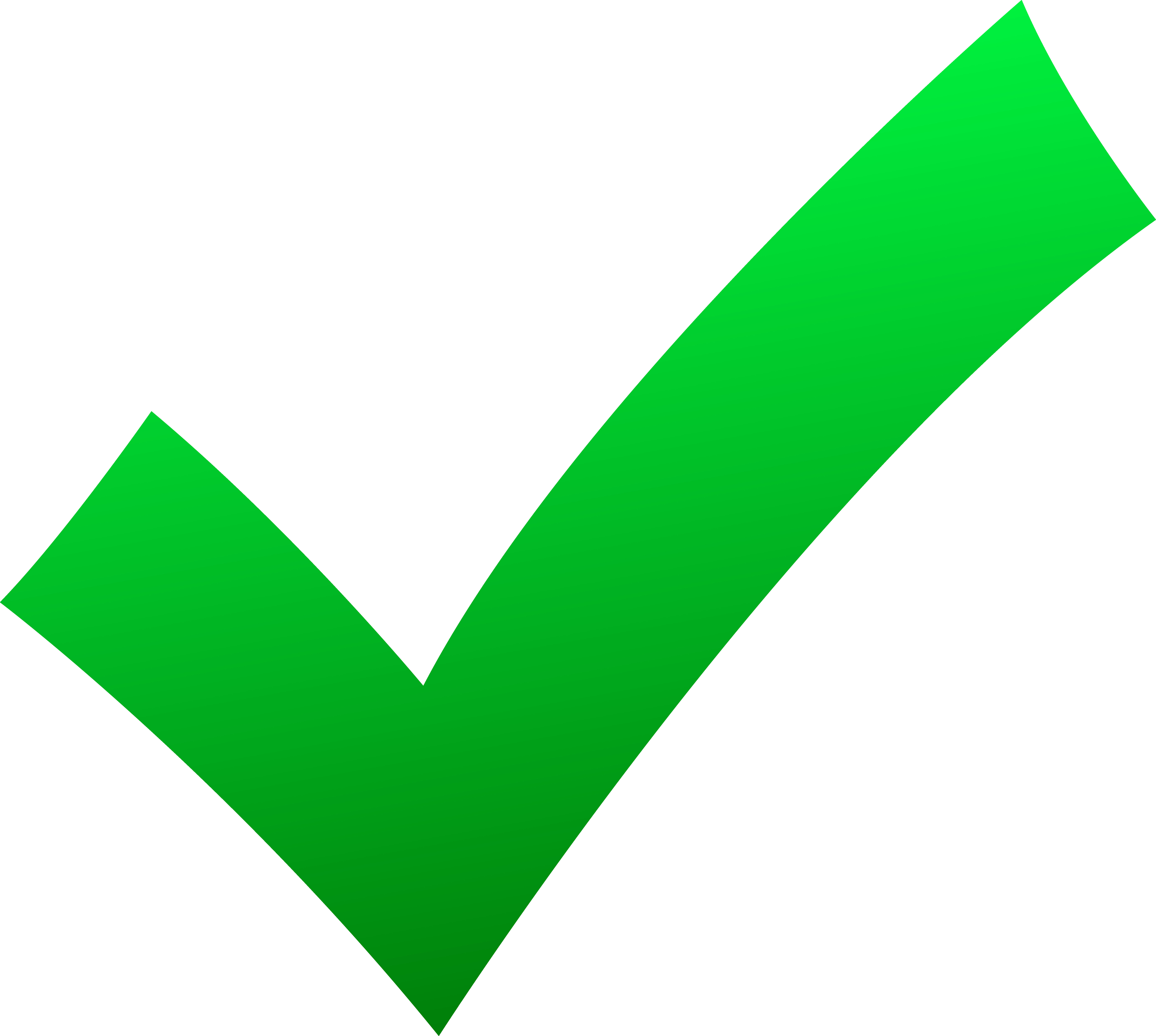 7855x7040 Simple Green Check Mark