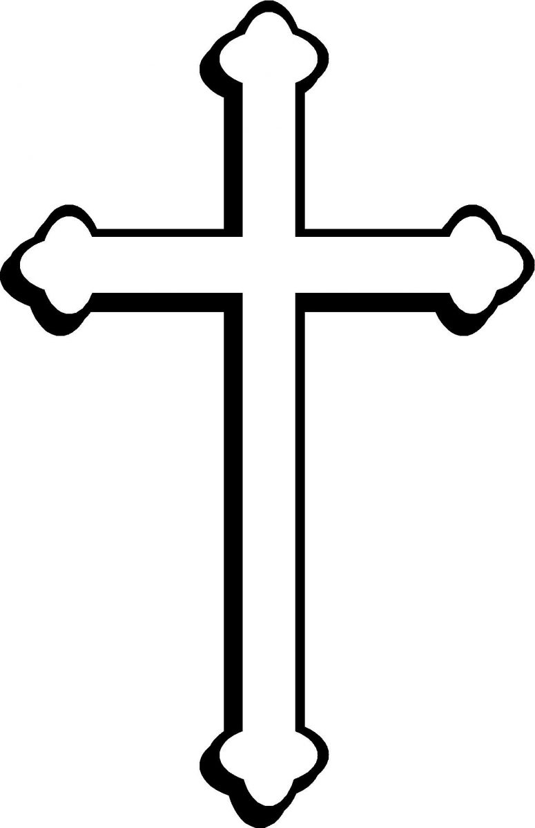 775x1199 Best Free Catholic Cross Clip Art Vector Cdr Free Clip Art