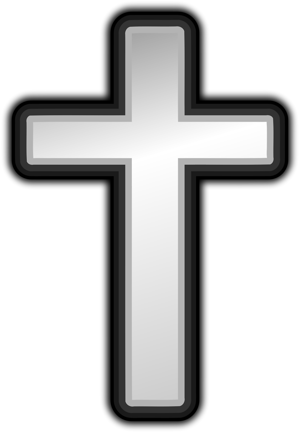 958x1384 Cross Free Stock Photo Illustration Of A White Cross