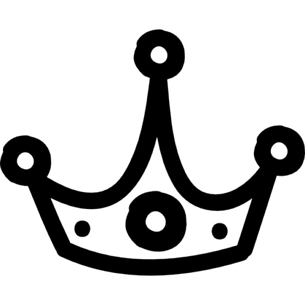 626x626 Crown Clipart Hand Drawn