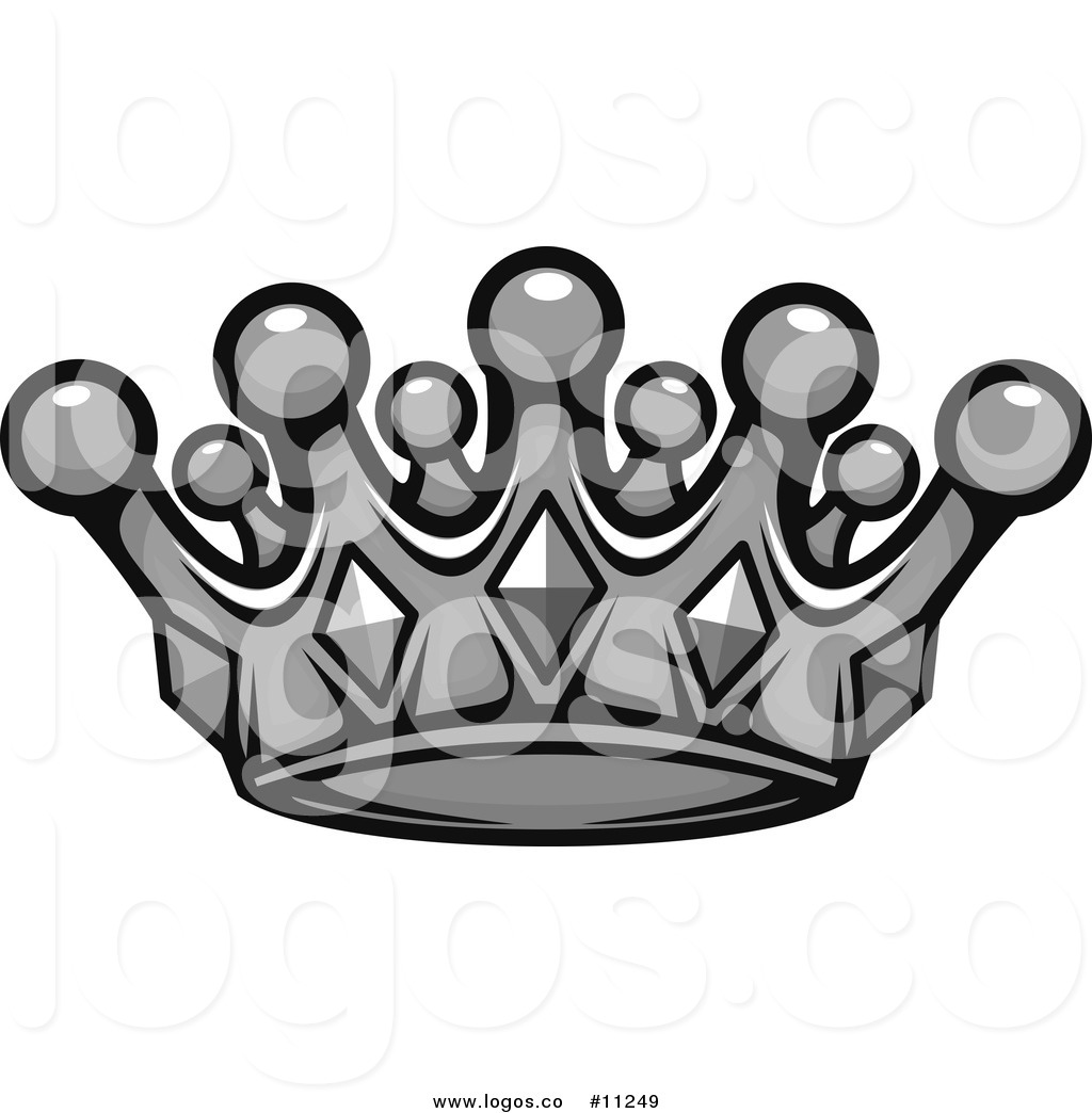 1024x1044 Royalty Free Clip Art Vector Grayscale Crown Logo By Vector
