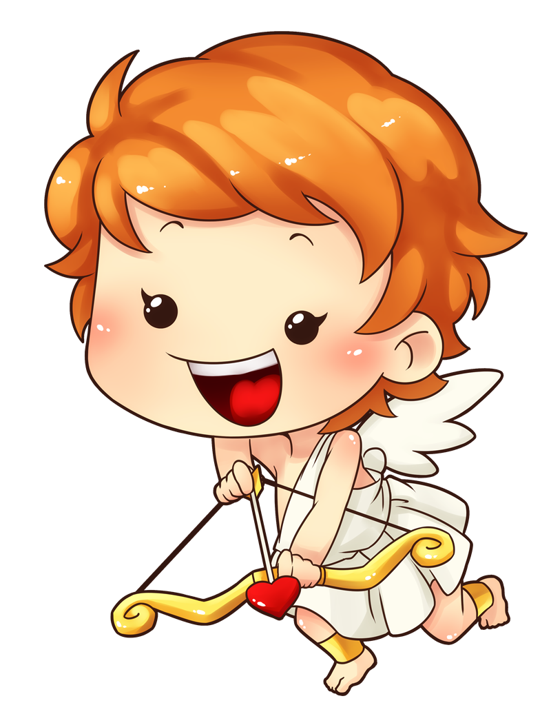 800x1036 Free Cute Cupid Clip Art