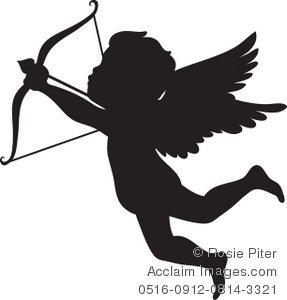 287x300 Cupid Arrow Clipart