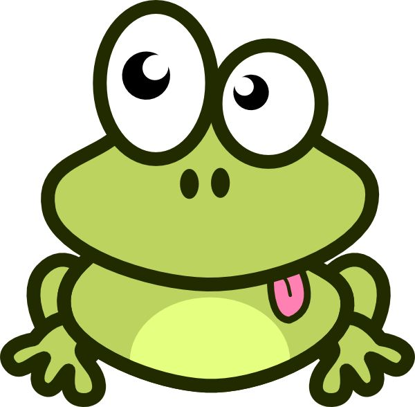 Free Cute Frog Clipart