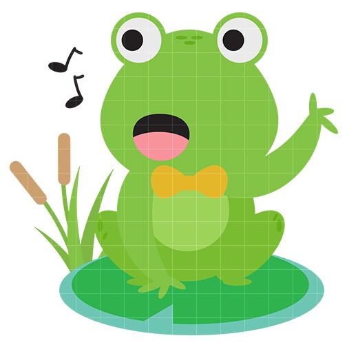 504x504 Cute Frog 4 Clip Art Clipart Panda