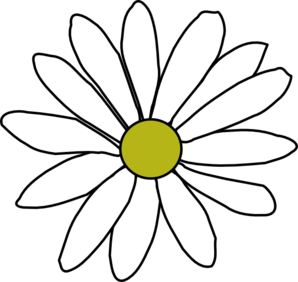 298x282 Simple Daisy Clip Art Vector Clip Art Online Royalty Free Image