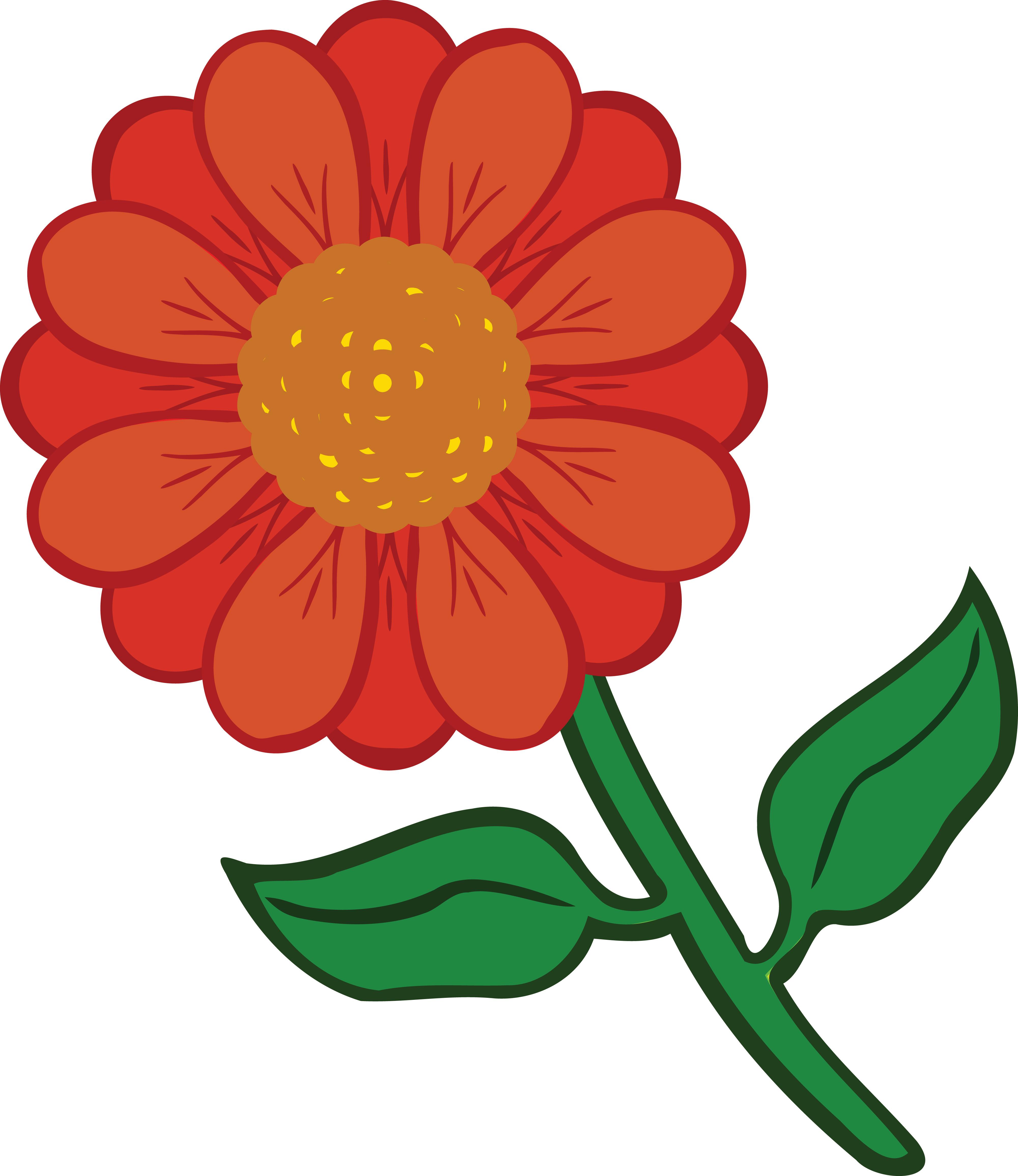 4000x4620 Clipart Of A Daisy Flower