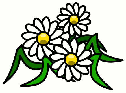 436x323 Free Daisy Clipart Public Domain Flower Clip Art Images