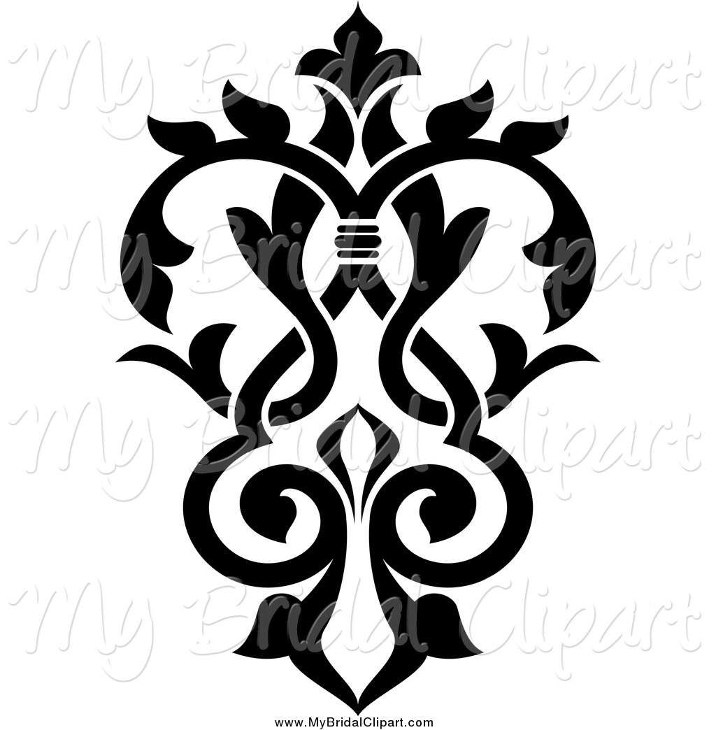 1024x1044 Damask Clipart Page