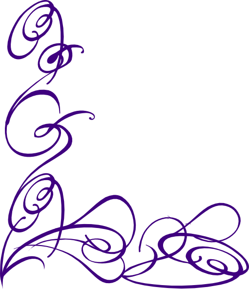 510x592 Decorative Swirl Clip Art