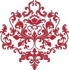 236x239 Damask Cliparts Free 200998