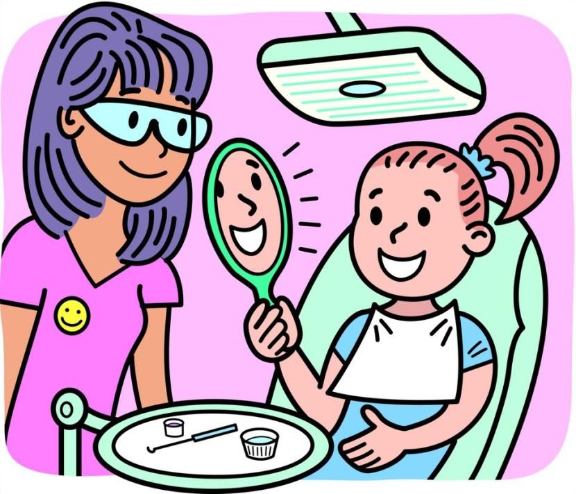 830x712 Clipart Free Dentist