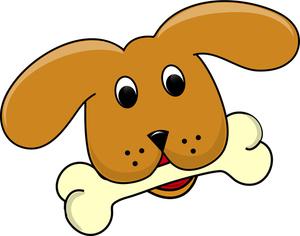 300x236 Dog Bone Chew Clip Art Images Free Clipart Image 2