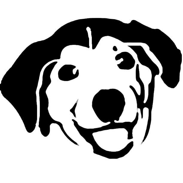 612x612 Pets Clipart Dog Head