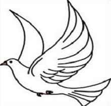 220x209 Free Dove Clipart