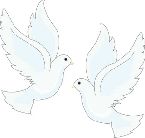 300x284 Free Doves Clipart Image 0515 0903 2317 5504