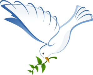 298x243 White Dove Clip Art