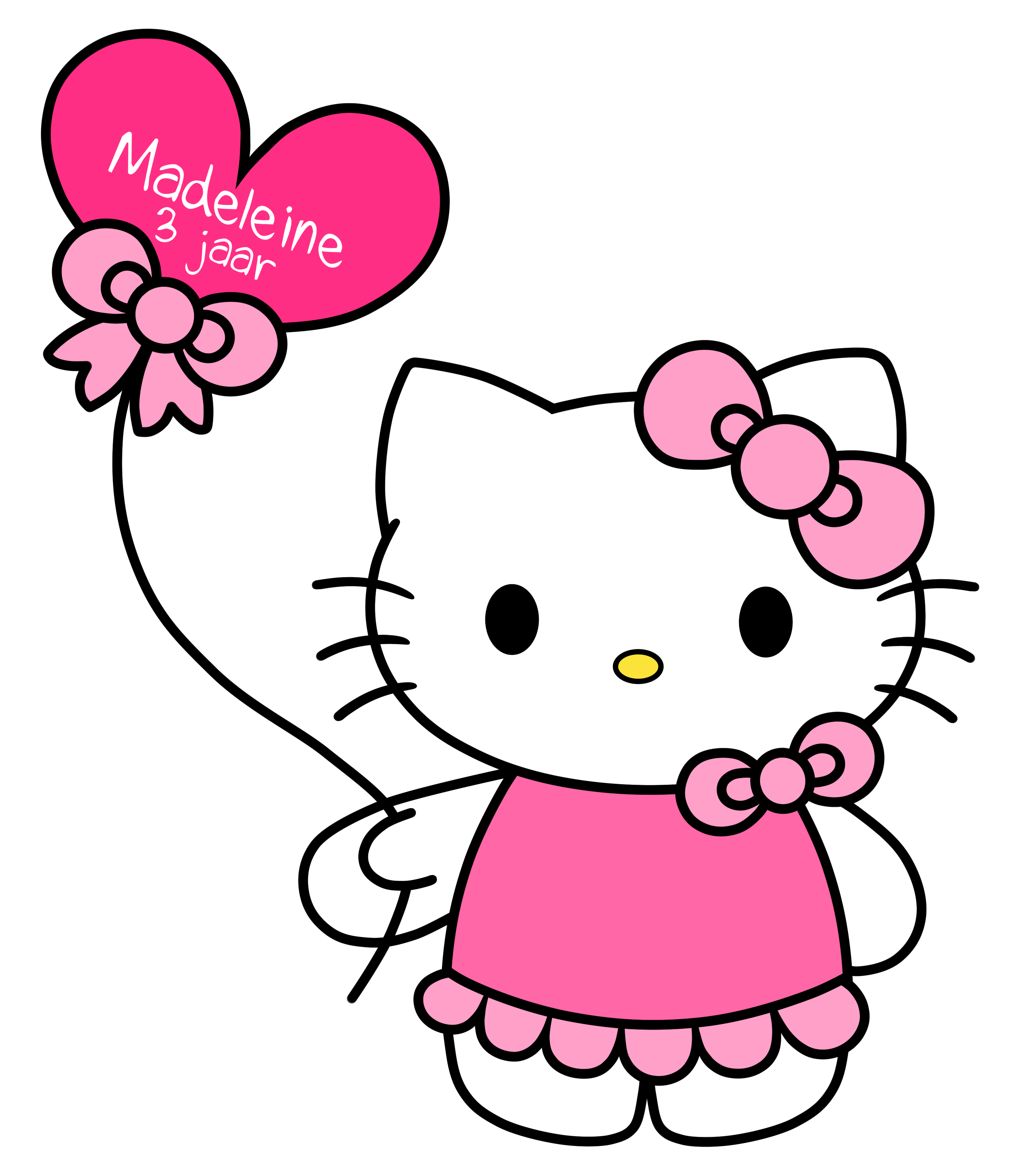 3046x3412 Hello Kitty Free Download Clip Art On Clipart