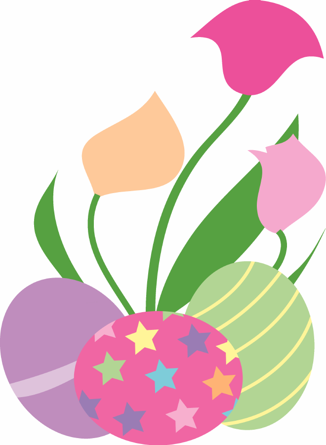 660x901 Easter Spring Clipart