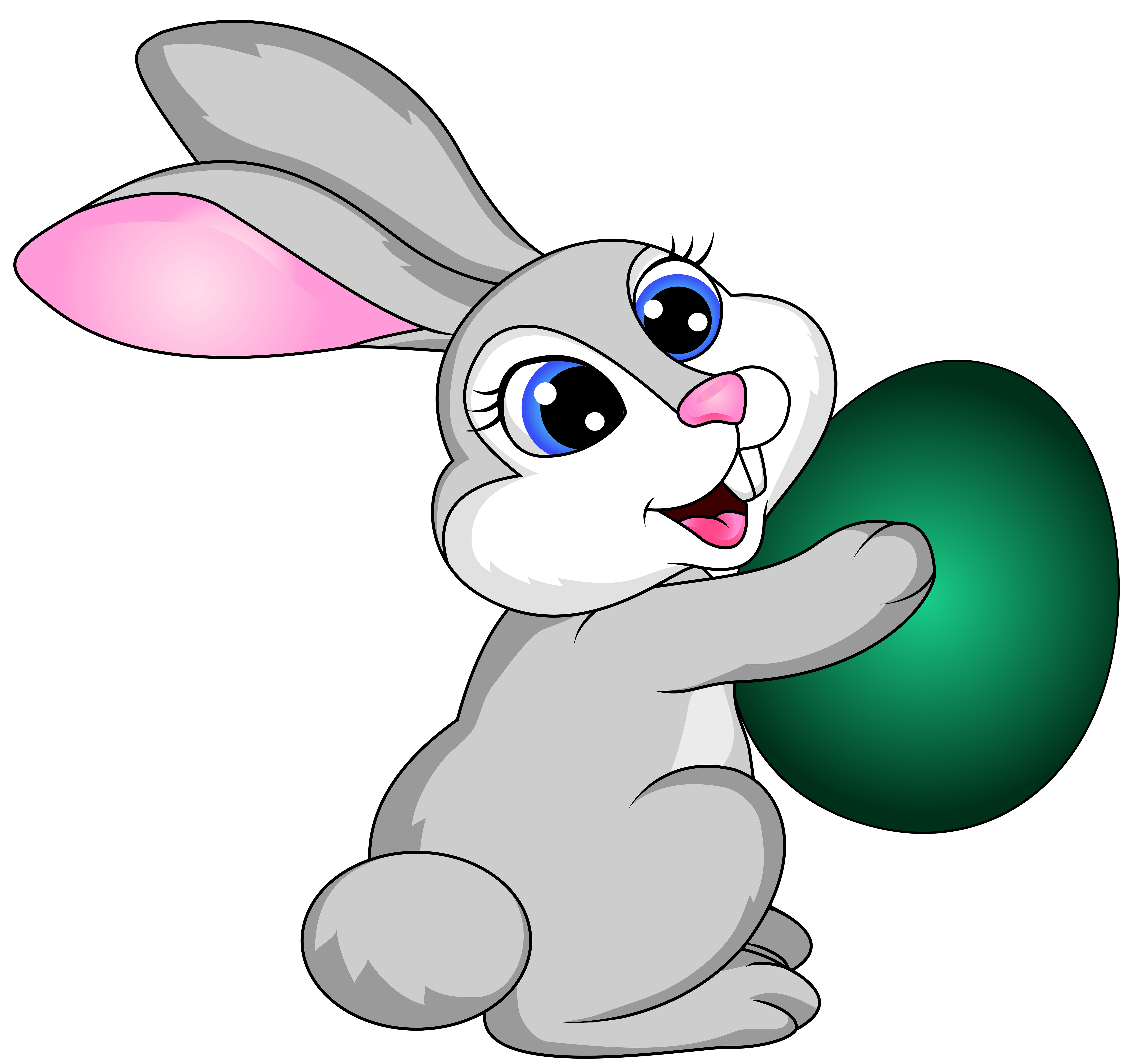 6000x5637 Free Easter Bunny Clipart Images