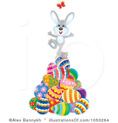 400x420 Sad Easter Bunny Clipart