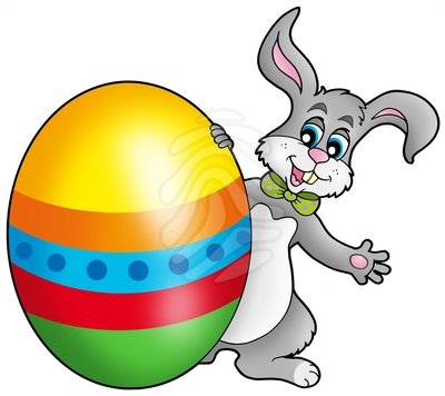 400x356 Bunny Clipart Easter Bunny Egg