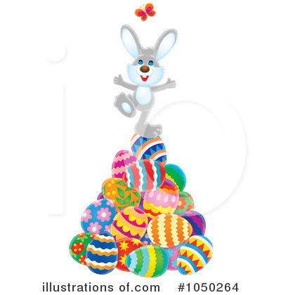400x420 Easter Bunny Clipart