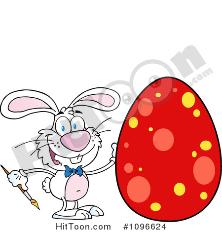 450x470 Easter Bunny Clipart