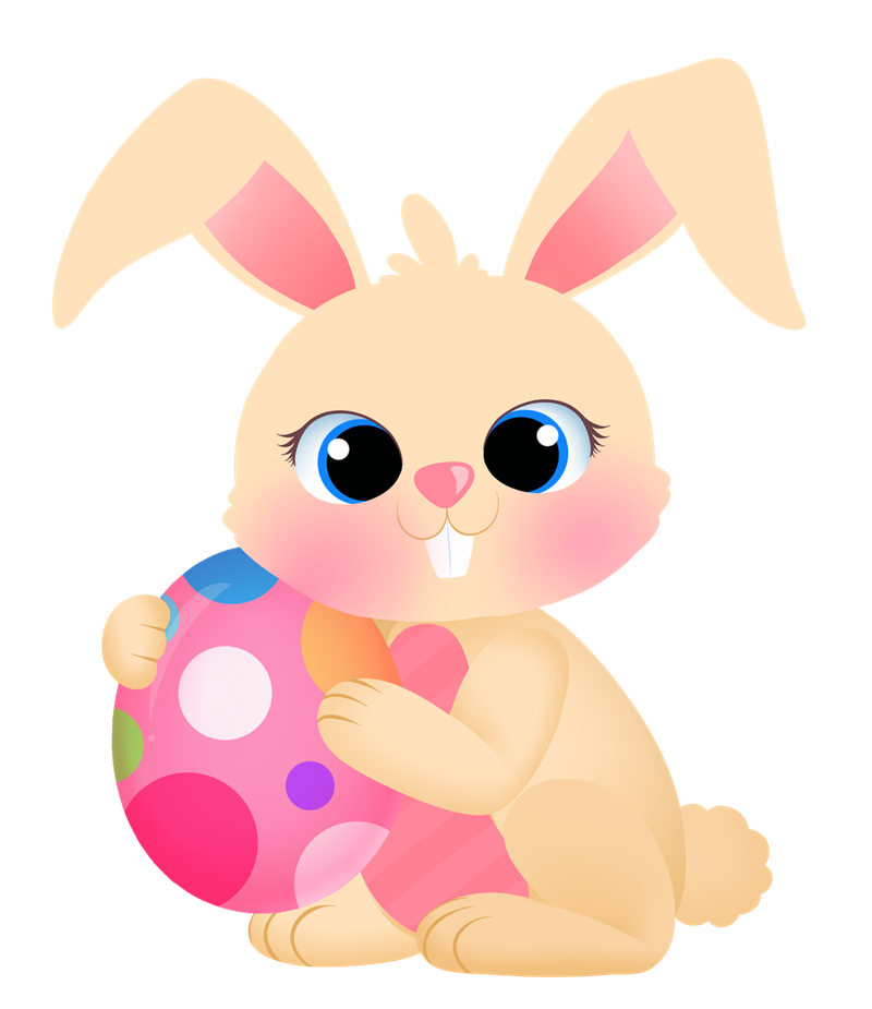 800x925 Free Easter Bunny And Eggs Clipart, 1 Page Of Free To Use Images