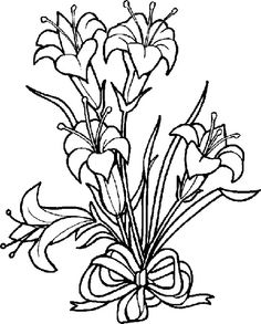 236x293 Easter Lily Clip Art