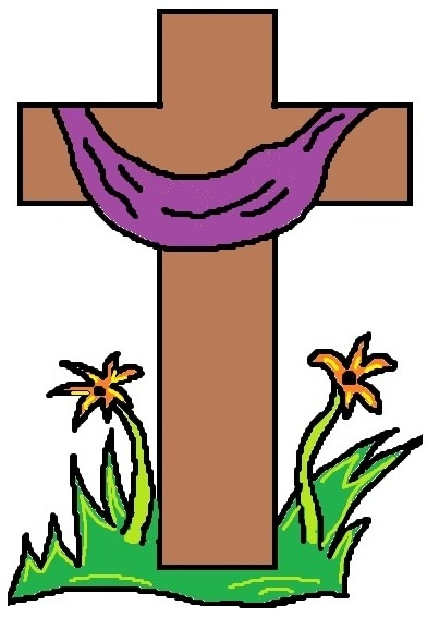 392x566 Church Easter Clipart