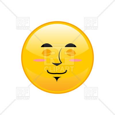 400x400 Sleeping Emoji Isolated Royalty Free Vector Clip Art Image
