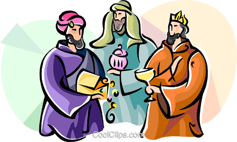 480x289 3 Wise Men Epiphany Royalty Free Vector Clip Art Illustration