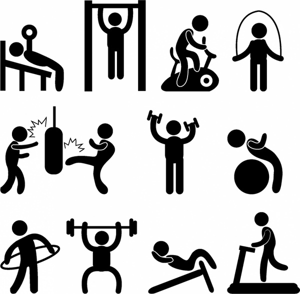 600x588 Gym Free Vector Download (84 Free Vector) For Commercial Use