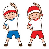170x170 Kid Exercising Clipart