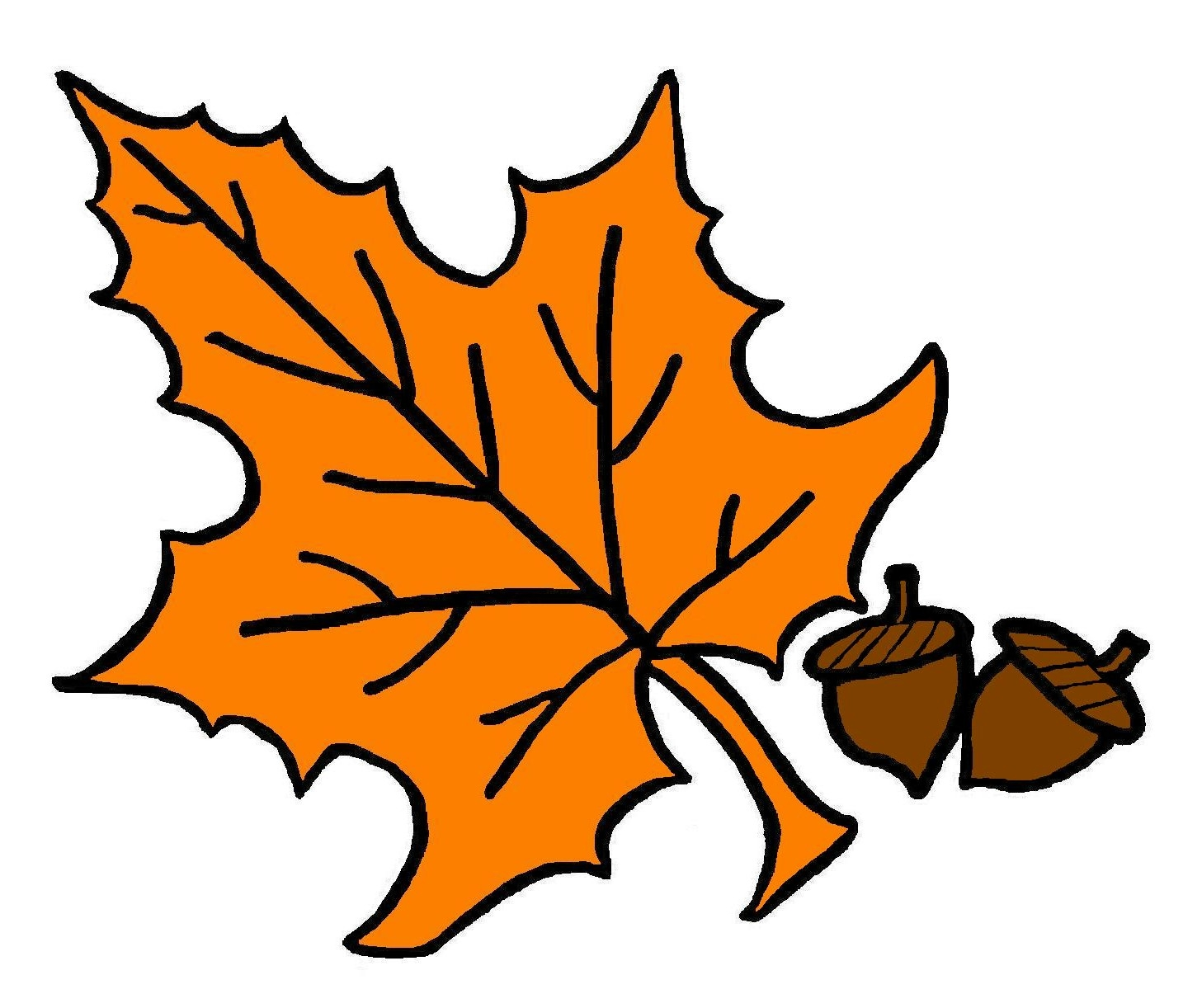 1457x1222 Fall Leaf Clip Art