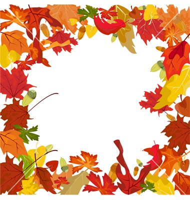 380x400 Unique Free Fall Leaves Clip Art Free Fall Borders Cliparts