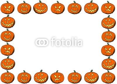 400x286 Border Clipart Pumpkin