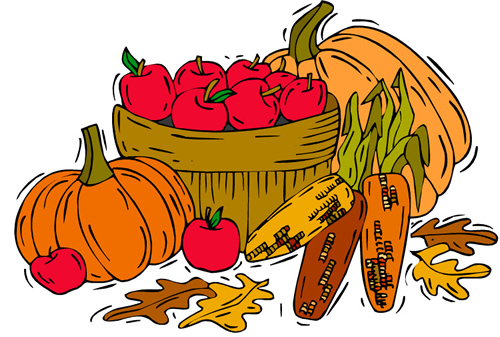 500x337 Harvest Clipart Free Fall